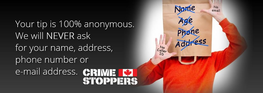 Crime Stoppers slogan