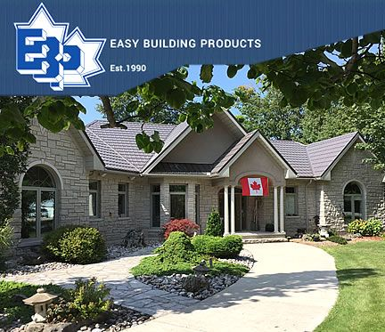 Easy Building Products website - Hensall, Ontario
